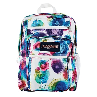 Jansport Big Student Backpack, Multi Tie Dye Swirls (TDN70JX ...