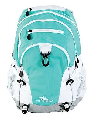 High Sierra Loop Aquamarine Polyester Backpack (53646-0783)