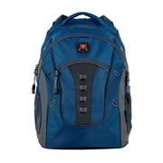 "SwissGear Granite 16"" Laptop Backpack, Blue/Grey"