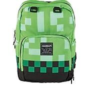 Minecraft Backpack, Creeper Green (MNCR1002SGRN)