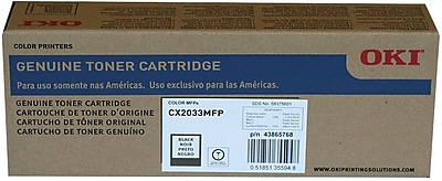 Okidata Toner Cartridge, 43865768, High Yield, Black