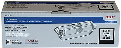 Okidata Toner Cartridge, 44469813, Black