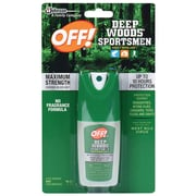 Click here to buy OFF! Deep Woods Sportsmen Insect Repellent, Maximum Strength, Unscented, 1 oz..