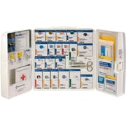 First Aid Only™ SmartCompliance™ Large Plastic First Aid Cabinet, ANSI A+, No Medications (90580)