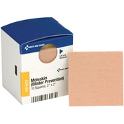 """First Aid Only® SmartCompliance® Refill Moleskin and Blister Protection, 2"""" x 2"""" (FAE-6013)"""