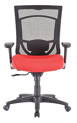 Tempur-Pedic TP7000 Mesh Computer and Desk Office Chair, Rosso Red (TP7000-RED)