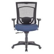 Tempur-Pedic TP7000 Mesh Computer and Desk Office Chair, Fixed Arms, Cobalt (TP7000-COBALT)