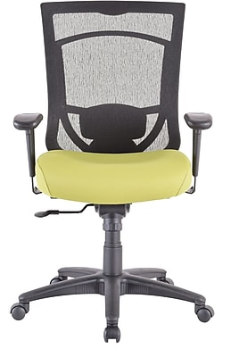 Tempur-Pedic TP7000 Mesh Computer and Desk Office Chair, Fixed Arms, Sublime Green (TP7000-GREEN)