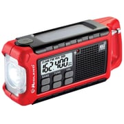 E+ Ready Emergency Dynamo Crank Radio with AM/FM Weather Alert with PDQ