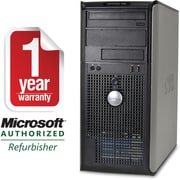 Refurbished Dell GX745, 250GB Hard Drive, 2GB Memory, Intel Core 2 Duo, Win 10 Home