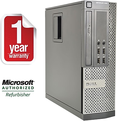 Refurbished Dell 990 SFF Desktop Core i5 3.1Ghz 16Gb RAM 2B HDD Windows 10 Pro