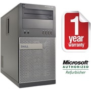 Refurbished Dell 790 Tower Intel Corei5-3.3Ghz 8GB Ram 2TB Hard Drive DVDRW Win 10 Pro(64bit)