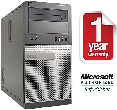 Refurbished Dell 790 Tower Core i5 3.3Ghz 8GB RAM 1TB HDD Windows 10 Pro