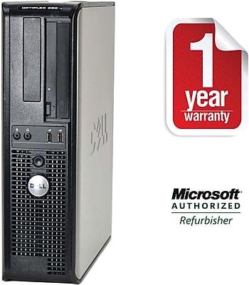 Dell Off-Lease, Refurbished Optiplex 360, 160GB Hard Drive, 2048MB Memory, Intel Dual Core, Win 10 Pro