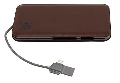 M-Edge 8K mAh Power Bank, Brown