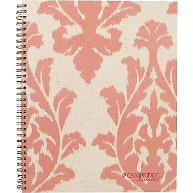 Cambridge® Fashion Notebook, Legal Ruled, 80 Sheets, 9