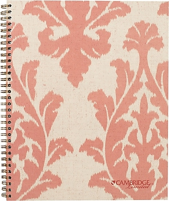 Cambridge® Fashion Notebook, Legal Ruled, 9