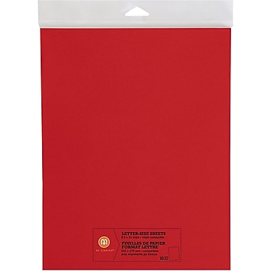 M by Staples®, Letter Size Sheets, 8.5