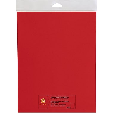 M by Staples®, Cardstock Sheets, 8.5