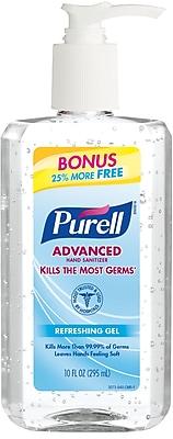 Purell Advanced Hand Sanitizer, Original, 8+2 oz.