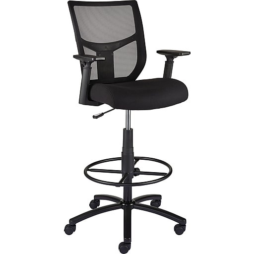 Staples Cabal Mesh And Fabric Stool Staples Cabal Mesh And