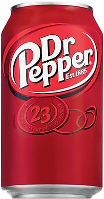 Dr Pepper®, 12 oz. Cans, 24/Pack