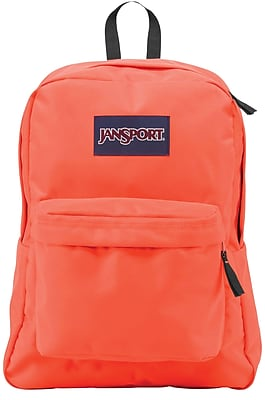 Jansport Superbreak Backpack, Tahitian Orange