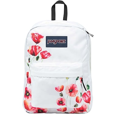 Jansport Superbreak Backpack, Multi California Poppy (JS00T5010K8 ...