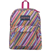 Jansport Superbreak Backpack, Multi Texture Stripe