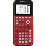 Texas Instruments TI-84 CE Color Screen Graphing Calculator, Red
