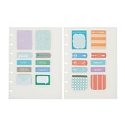 """Staples® Arc System Adhesive Notes, Assorted, 5-1/2"""" X 7-1/2""""  (29476)"""