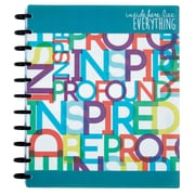 "Staples® Arc System 12 Month Undated Planner, Assorted, 8-1/2"" x 11"" (50055)"