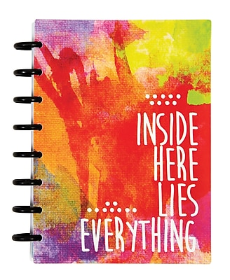 Staples® Arc System 12 Month Undated Planner, Assorted, 5-1/2