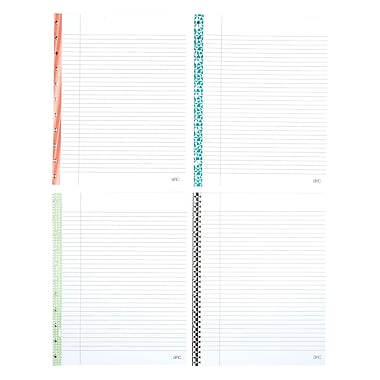 Staples® Arc System College Ruled Reinforced Refill Paper 11  Print College Ruled Paper