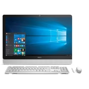 Dell Inspiron i3459-3276WHT 23.8 Inch Touchscreen All in One (Intel Core i3, 8 GB RAM, 1 TB HDD, Whi