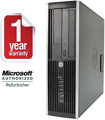 Refurbished HP 8000 SFF Desktop Core 2 Duo 3.0Ghz 4GB RAM 250GB HDD Windows 10 Pro
