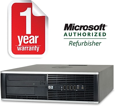 Refurbished HP 8100 SFF Desktop Core i7 2.8Ghz 8GB RAM 1TB HDD Windows 10 Pro