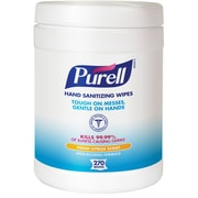 Purell® Sanitizing Wipes Fresh Citrus Scent 270/Wipes