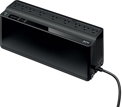 APC Back-UPS 850VA 9 Outlet 2 USB Port Battery Backup (BE850M2)