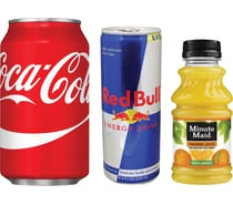 Soda, Juice & Energy Drinks