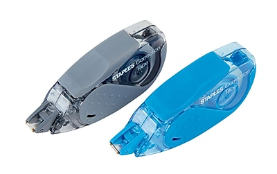 Staples® OOPS!™Correction Tape w/Grip, 2/Pack
