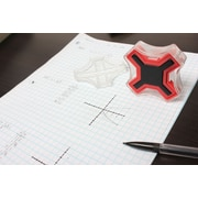 Coordimate XY Graph Maker - Clear & Yellow