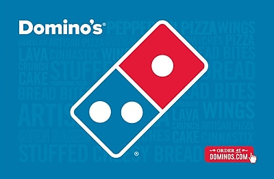 Domino's Gift Card $100 (Email Delivery)