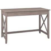 Bush Furniture Key West 48W Writing Desk, Washed Gray
