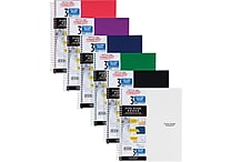 Five Star® Trend Wirebound Notebook, 3 Subject, College Ruled, 11' x 8 1/2' (06050)
