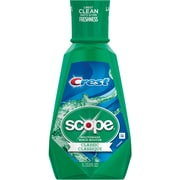 Scope® Mouthwash, Original Mint, 33.8 oz., 6/Case