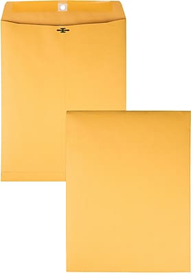 Columbian Clasp Gummed Envelopes, 9