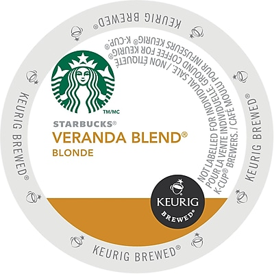 Keurig K-Cup Starbucks Veranda Blend Coffee, 96 Count 2616353