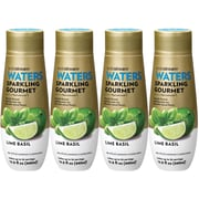 Sodastream 440ml Sparkling Gourmet Lime Basil Sparkling Drink Mix, 4 Pack