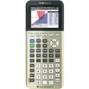 Texas Instruments TI-84 CE Color Screen Graphing Calculator, Gold